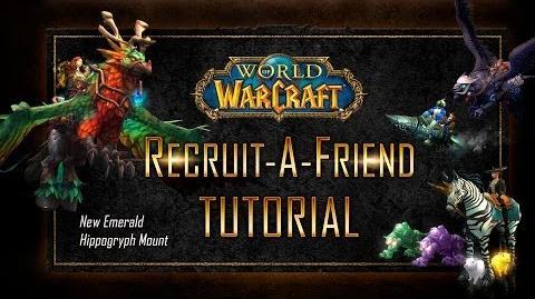 World of Warcraft Recruit A Friend Tutorial