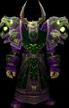 Orc male wearing Nemesis Raiment