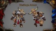 World of Warcraft Tauren Heritage armor - Blizzcon 2018