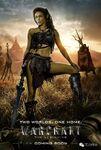 Warcraft movie poster - Garona