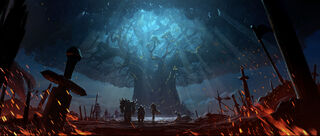 WoW Battle for Azeroth Approach to Teldrassil-4K.jpg