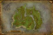 Map of Gillijim's Isle (fanart)