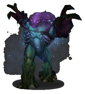 A fungal giant in WoW.