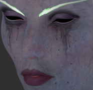 Slyvanas for Legion cinematic facial modeling skin detail