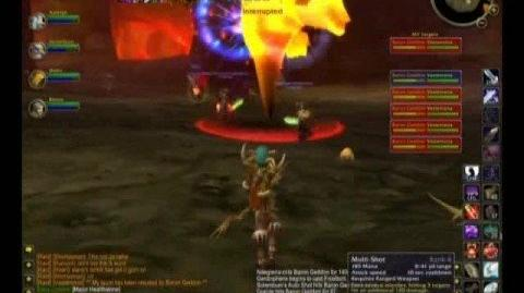 WoW Tyraenny Kill Molten Core - Baron Geddon