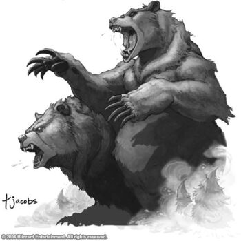 Ursoc and Ursol, the bear brothers