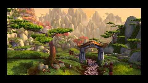 World of Warcraft Mists of Pandaria, Pandaren Intro