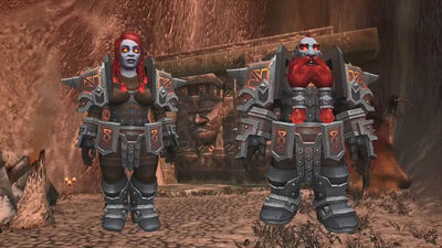 Heritage Armor-Dark Iron Dwarves