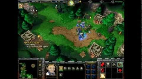 ParaFreak Warcraft III Reign of Chaos The Defense of Strahnbrad