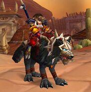 Black War Wolf