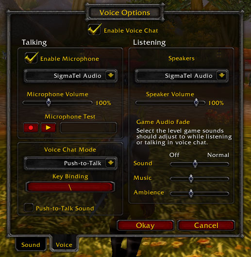 Chat wow List of