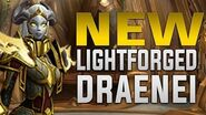 Lightforged Draenei - Customization, Heritage Armor, Racials, Voices, Mounts & Scenario - Alliance A