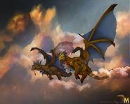 Nozdormu and Soridormi Dragons
