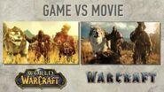 Warcraft Movie vs WoW