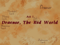 Warcraft II Beyond the Dark Portal - Act I (Draenor, The Red World).png