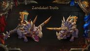 World of Warcraft Zandalari Troll mounts - Blizzcon 2018