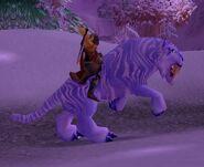 Wintersaber tiger
