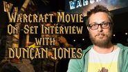 Duncan Jones Warcraft Movie On-Set Interview