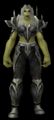 Orc female wearing Black Dragon Mail