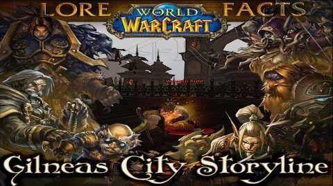 Gilneas City Storyline n' Lore World of Warcraft 4K