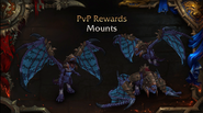 World of Warcraft - Rise of Azshara 8.2.0 new PVP flying mount - Blizzcon 2018