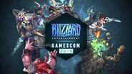 Gamescom Live Stream World of Warcraft - August 9, 2015 BlizzGC2015