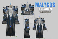 Malygos the spellweaver humanoid by vaanel by vaanel-d4i6cc6