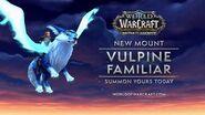 New Mount Vulpine Familiar