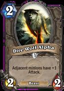 Dire Wolf AlphaHearthstone