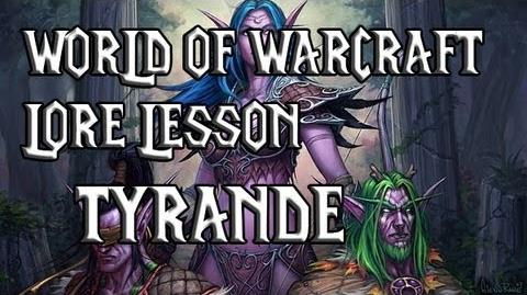 World of Warcraft lore lesson 21 Tyrande
