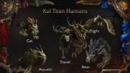 World of Warcraft Kul Tiras Human druid form - Blizzcon 2018