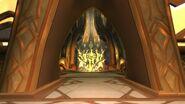 Xenedar looking into Xe'ra's chamber