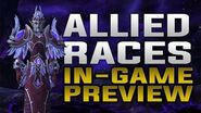 Allied Races In Game Preview - Mounts, Heritage Armor, Customization & Racials