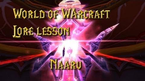 World of Warcraft lore lesson 45 Naaru