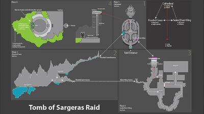 Tomb of Sargeras map