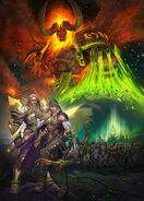 WoW Shadows of Argus Patch 7.3 Together Key Art