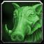 Figurine - Emerald Boar