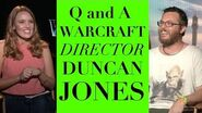 Director Duncan Jones talks WARCRAFT Fan Questions!!