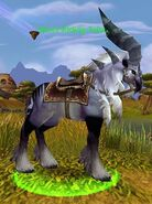 Silver Riding Talbuk
