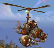 Turbo-Charged Flying Machine
