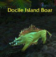 (Echo Isles) Docile Island Boar