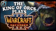 Grubby The King of Orcs Plays Warcraft 3 REFORGED at Blizzcon 2018!