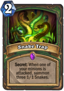 Snake TrapHearthstone