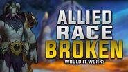 Allied Race - The Broken (Krokul) Would It Work? - Customization, Gear, Faction & More