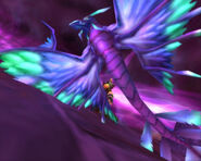 BlueDragonhawkHatchling