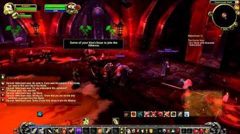 Pandaren introduction into the Horde, MoP Beta with Nobbel HD