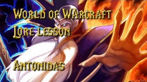 World of Warcraft lore lesson 38 Antonidas