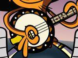 Wander's banjo