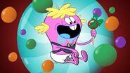S1e19b Huckleberry gets a lollipop