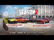 September 2020 Update, Season Pass 2 & Getaway Car Pack Trailer